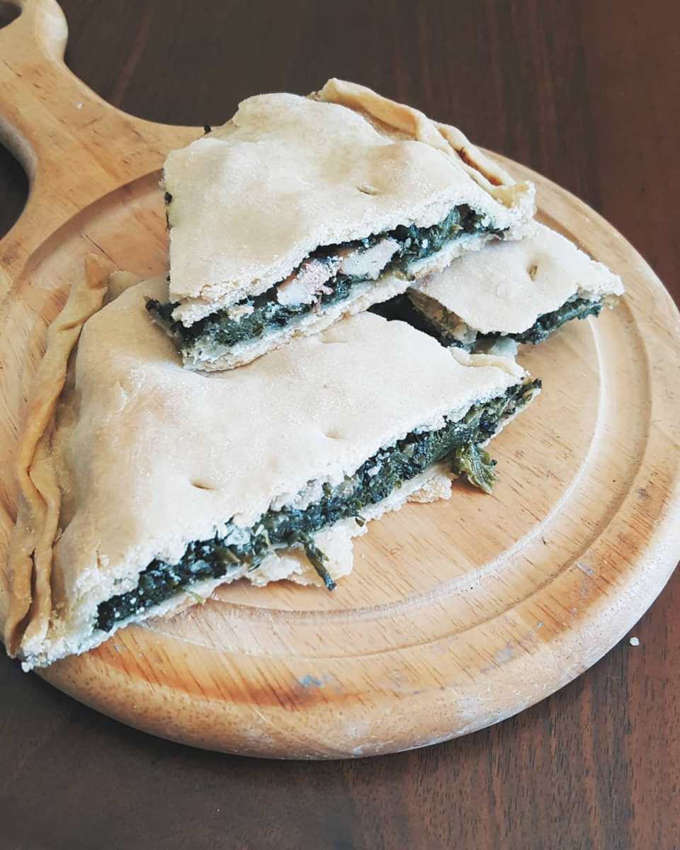 Cooking stories   Erbazzone recipe (traditional italian chard and cheese pie)