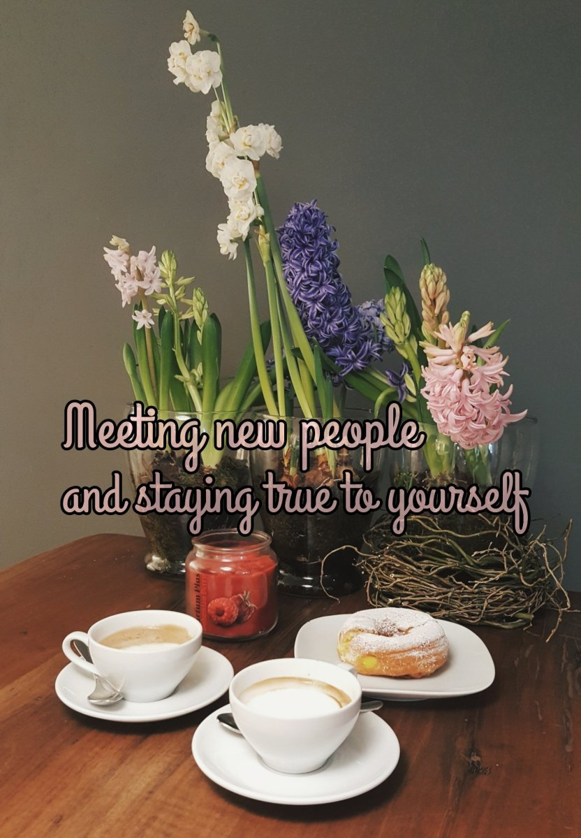How to stay true to yourself when meeting new people | Mental health